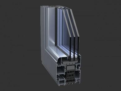 ST78 为严寒地区指定的门窗解决方案